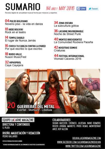 LaCarne Magazine Bolivia N42