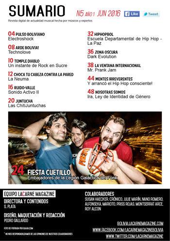 LaCarne Magazine Bolivia N5