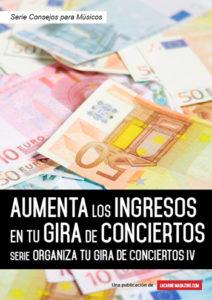 Aumenta los ingresos en tu gira de conciertos portada
