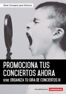 Promociona tus conciertos-portada