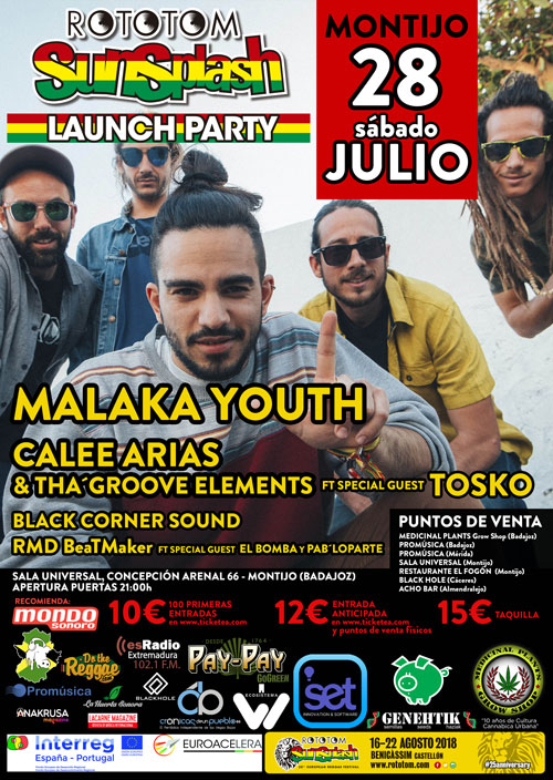Rototom Launch Party