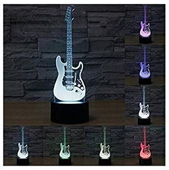 guitarra lampara