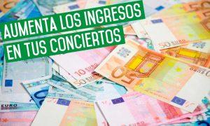 Aumenta los ingresos en tus conciertos