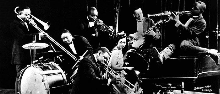 origen de la música jazz