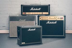 7 amplificadores de guitarra Marshall inolvidables