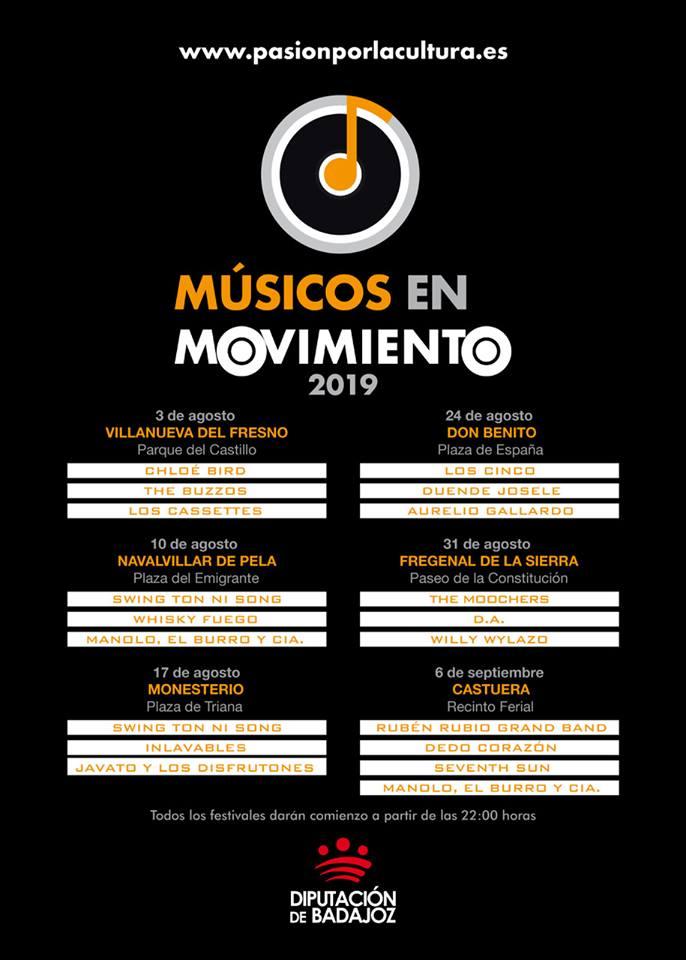 músicos en movimiento 2019