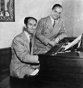 Ira and George Gershwing