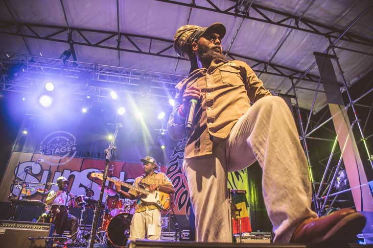 javier pulpo y Rubera Roots Band en Rototom Sunsplash