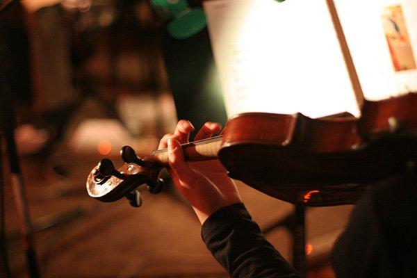 aprender a tocar el violin